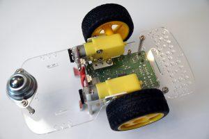 Raspberry Pi Roboter GoPiGo Aufbau