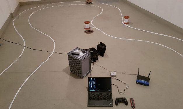 Autonom fahrendes Raspberry Pi KI Roboter-Auto – Trainingsdaten aufzeichnen
