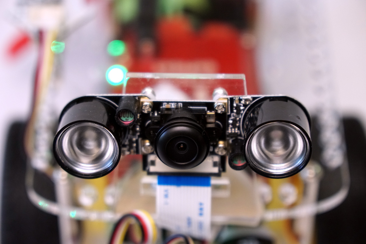 Raspberry pi robot car u gopigo zusätzliche sensoren raspberry