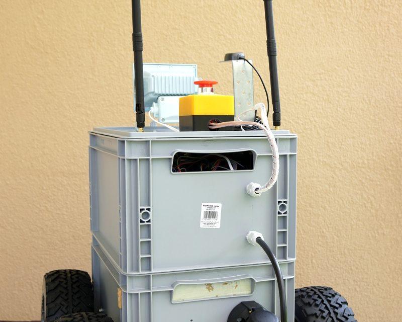 RASPBERRY PI ROBOTER – BIG ROB modularer Aufbau 2-2
