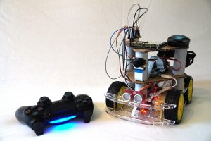 Raspberry Pi Playstation 4 Controller Roboter Auto Steuerung