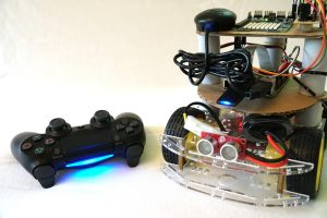 Raspberry Pi Playstation 4 Controller Roboter Auto Steuerung USB