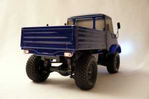 Donkey Car - Mercedes UNIMOG back