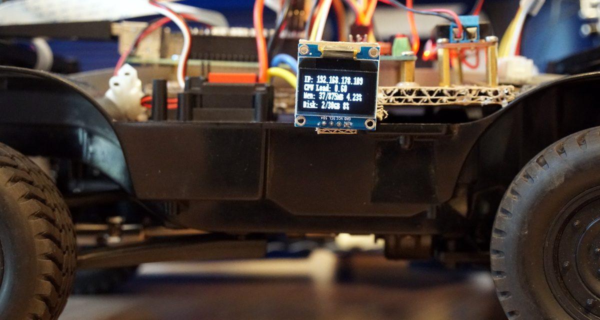 Autonom fahrendes Raspberry Pi KI Roboter-Auto – Software Installation Pro