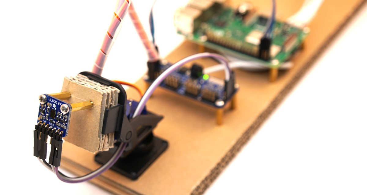 Raspberry Pi Laser Scanner – Adafruit VL53L0X