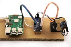 Adafruit VL53L0X laser scanner setup pan tilt kit