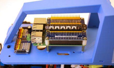 Autonom fahrendes Raspberry Pi KI Roboter-Auto – Manuelle Short Keys