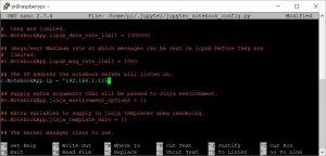 Jupyter config IP