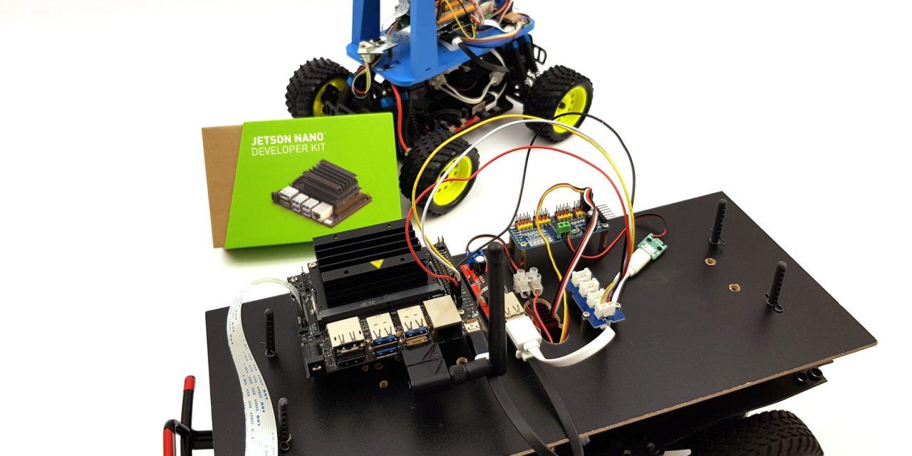 Autonomously driving Nvidia Jetson Nano AI robot car – preparation