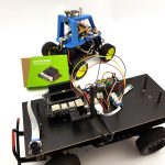 Autonomously driving Nvidia Jetson Nano AI robot car - preparation