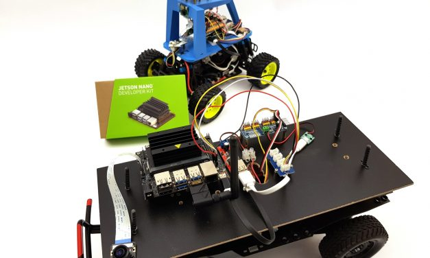 Autonom fahrendes AI Roboter-Auto – NVIDIA Jetson Nano SBC