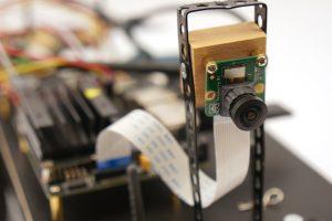 Jetson Nano Weitwinkel Kamera montiert Donkey Car