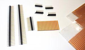 DIY I2C HUB - components
