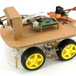 Raspberry Pi Roboter-Auto Komponenten (Ausgabe 2019)