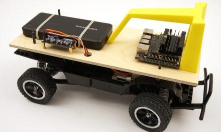 Autonomously driving Nvidia Jetson Nano AI robot car – software installation