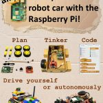 Raspberry Pi robot car – components (2020)