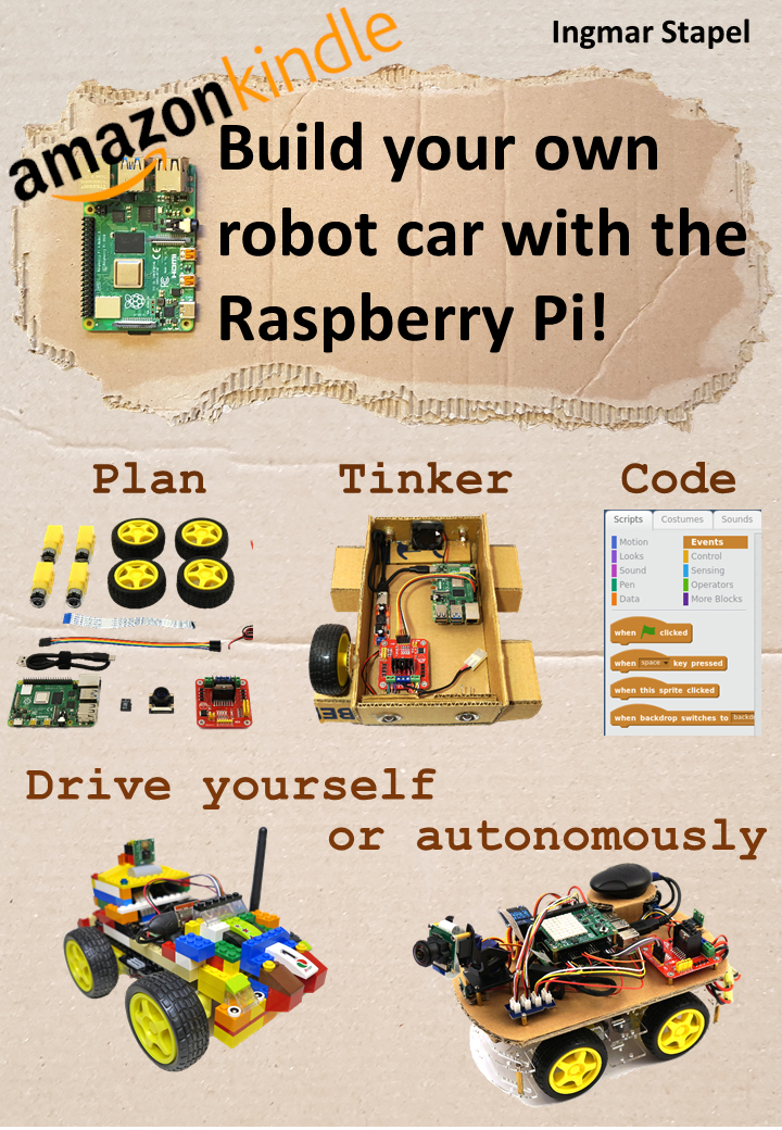 Build your own robot car with the Raspberry Pi!