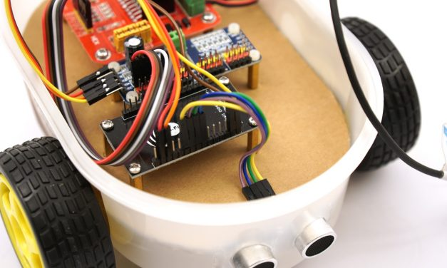 Building robots with the ESP8266 Development Board – Wiring Part 1