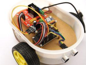 ESP8266 NodeMCU - robot car PCA9685 serco controller
