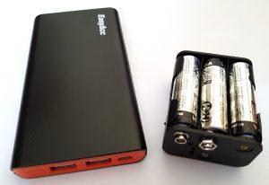 ESP8266 NodeMCU robot car battery