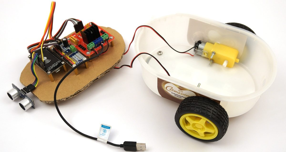 Building robots with the ESP8266 development board – chassis