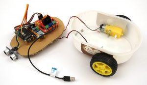 ESP8266 NodeMCU robot car dc motor wiring