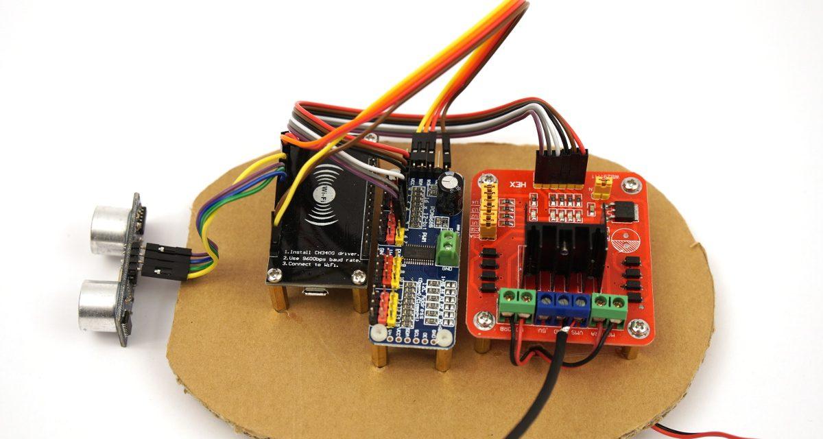Roboter bauen mit dem ESP8266 Entwicklungsboard – Bauteile