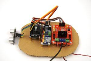 ESP8266 NodeMCU robot car electronics