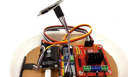 Building robots with the ESP8266 development board – OLED display