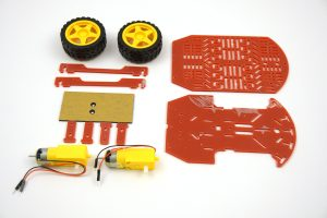 Duckietown Duckiebot chassis components