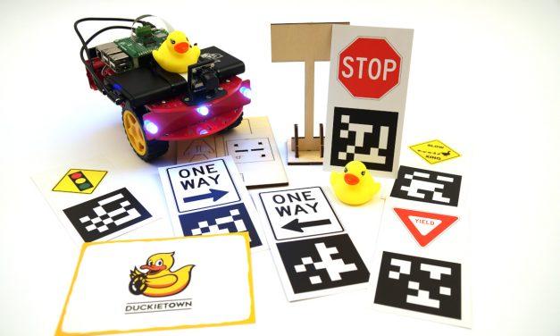Die Duckietown-Plattform – Duckiebot zusammenbauen