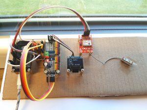 ESP8266 NodeMCU robot car gps ublox neo 6m