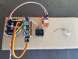 ESP8266 NodeMCU robot car gps ublox neo 6m GPS fix