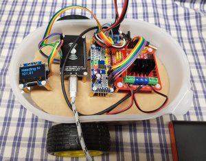 ESP8266 NodeMCU Magnetometer Test