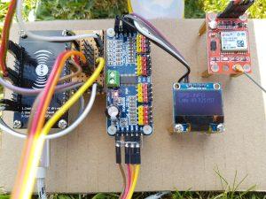 ESP8266 NodeMCU solar power components