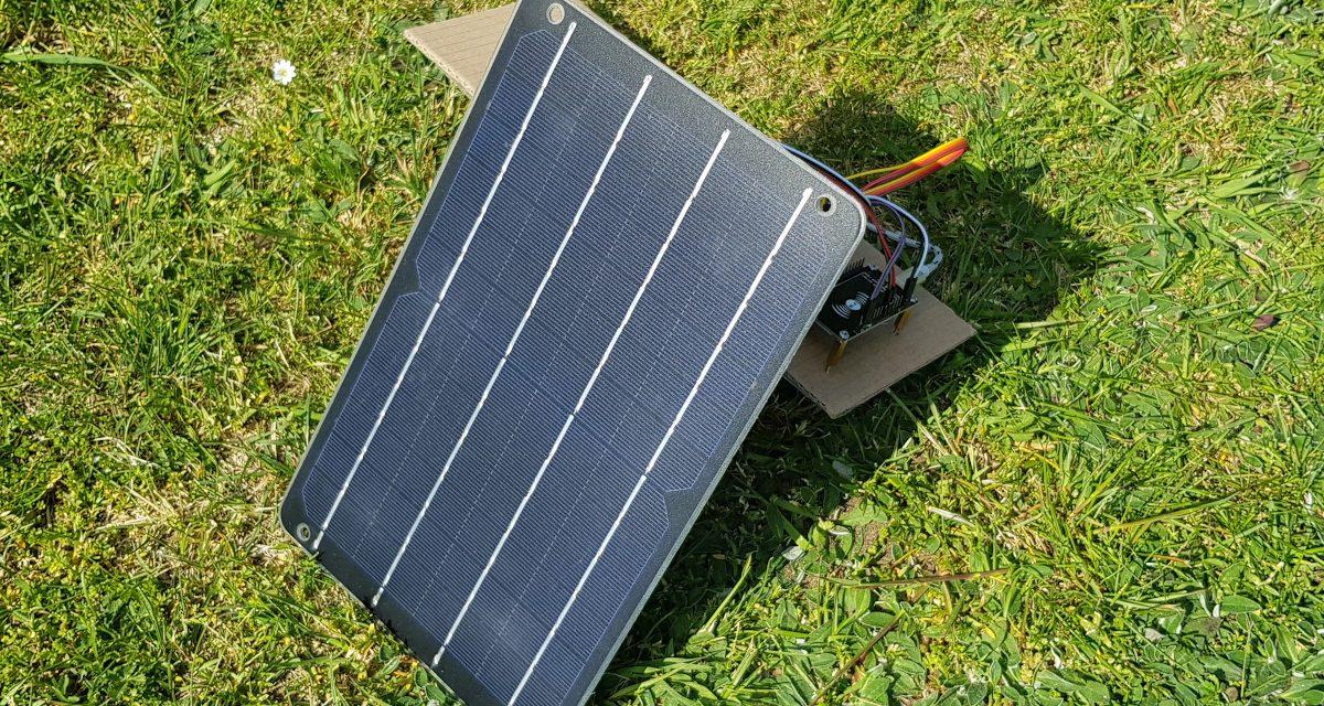 ESP8266 NodeMCU Solar Power