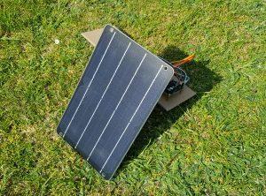 ESP8266 NodeMCU solar power panel