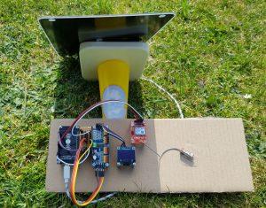 ESP8266 NodeMCU solar power setup