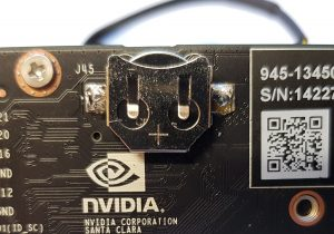 NVIDIA Jetson Nano Real Time Clock RTC Battery Socket CR1225