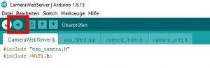 ESP32-CAM Arduino IDE Upload