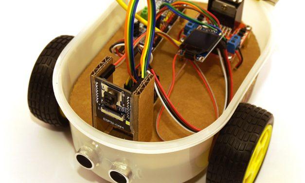 ESP32-CAM Roboter Auto mit live Video Stream selber bauen – Roboter Auto Beispielprogramme