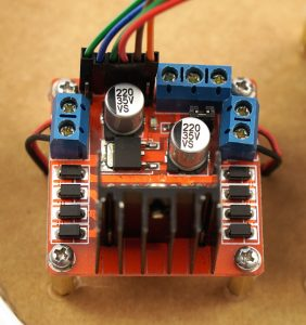 ESP32-CAM L298N H-Bridge wires