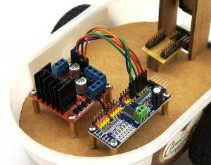 ESP32-CAM PCA9685 wires