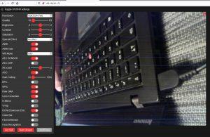 ESP32-CAM camera live stream