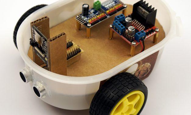 ESP32-CAM building your own robot car with live video streaming – robo car example programs