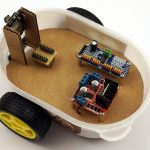 ESP32-CAM Roboter Auto mit live Video Stream selber bauen – Aufbau des Chassis