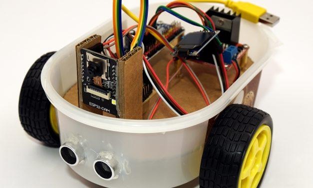ESP32-CAM Roboter Auto mit live Video Stream selber bauen – Projekt Start