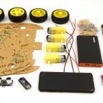 OpenBot - Dein Smartphone steuert ein Roboter Auto - benötigte Bauteile Teil 1-2