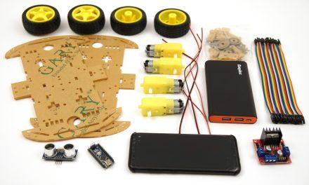OpenBot – Dein Smartphone steuert ein Roboter Auto – benötigte Bauteile Teil 1-2