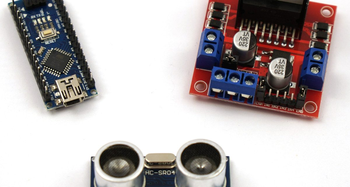 OpenBot – Dein Smartphone steuert ein Roboter Auto – benötigte Bauteile Teil 2-2